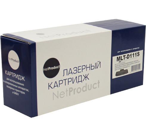 Фото - Картридж NetProduct MLT-D111S для Samsung SL-M2020/2020W/2070/2070W черный 1000стр фотобарабан hp ss832a mlt r707 для sl k2200nd sl k2200 черный