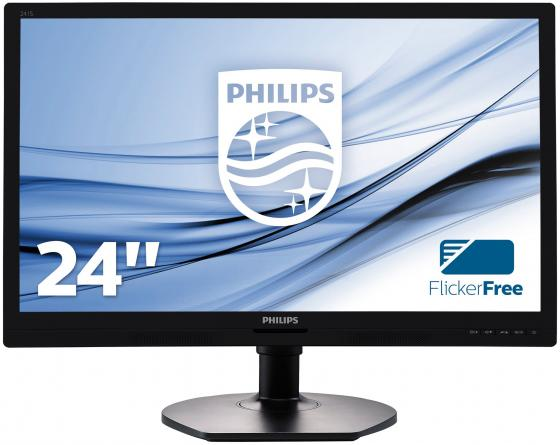 цена на Монитор 24 Philips 241S6QYMB черный AH-IPS 1920x1080 250 cd/m^2 5 ms DVI DisplayPort VGA Аудио