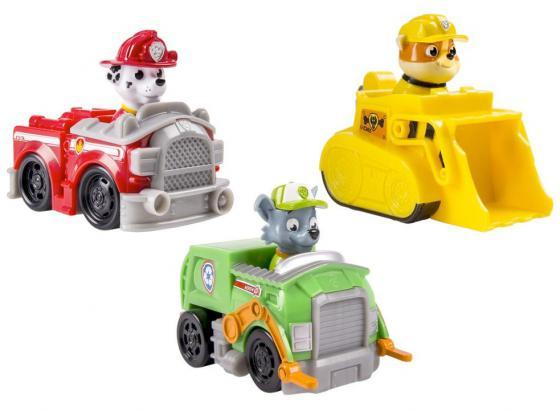 Игровой набор Paw Patrol 3 маленькие машинки 20067173 paw patrol игровой набор zuma s 20079030
