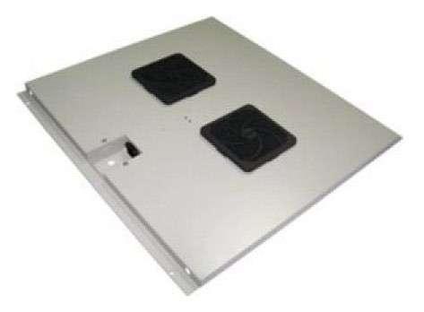 лучшая цена Блок 2-х вентиляторов Lanmaster TWT-CBE-FAN2-6 в крышу шкафа Eco глубиной 600мм