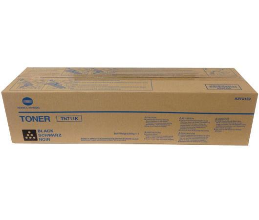 Тонер Konica Minolta A3VU150 для Konica Minolta bizhub C654 bizhub C754 31500 Черный