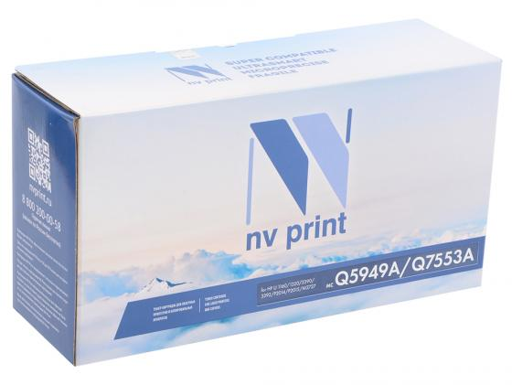 Картридж NV-Print Q5949A/Q7553A для HP LJ 1160/1320/3390/P2014/P2015/M2727mfp черный 3000стр 10set x rc1 3609 000 rc1 3610 000 bushing pressure roller for hp 1160 1320 2420 2430 3390 p2014 p2015 m2727 m3027 m3035 p3005