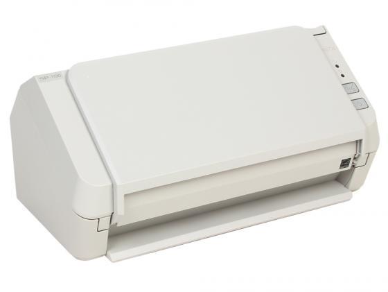 Сканер Fujitsu ScanPartner SP-1130 протяжный А4 600x600 dpi CCD 30ppm USB белый PA03708-B021 1setx original new pickup roller feed exit drive for fujitsu scansnap s300 s300m s1300 s1300i
