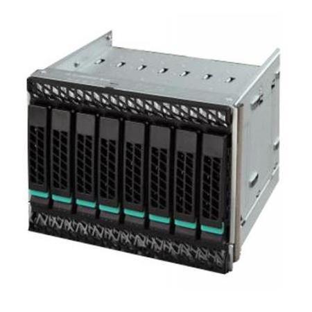 лучшая цена Серверный корпус 2U Intel A2U8X25S3HSDK 935066 Без БП серебристый