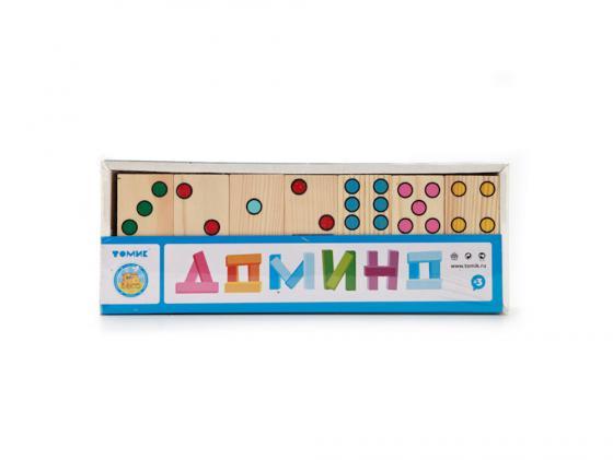 Настольная игра домино Томик Домино Точки 5655-2 настольная игра домино стеллар хорошие знакомые 9