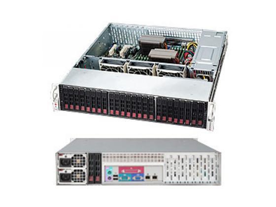 Серверный корпус 2U Supermicro CSE-216BE1C-R920LPB 920 Вт чёрный