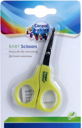 Ножницы Canpol 2/810 зеленый