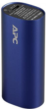 цена на Портативное зарядное устройство APC Mobile Power Pack 3000mAh Li-polymer 1А голубой M3BL-EC