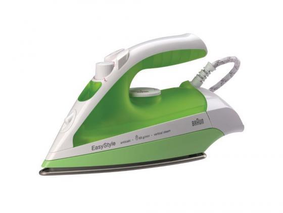 Утюг Braun TexStyle TS330 С 1700Вт белый зелёный braun texstyle ts545s