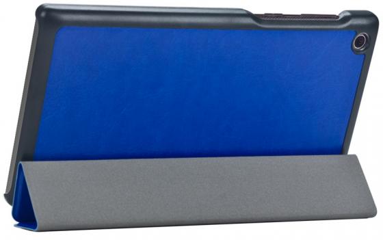 Чехол IT BAGGAGE для планшета Lenovo Tab 2 A7-30HC 7 ультратонкий искуственная кожа синий ITLNA7302-4