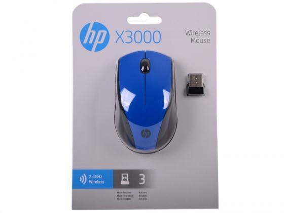 лучшая цена Мышь беспроводная HP N4G63AA чёрный USB