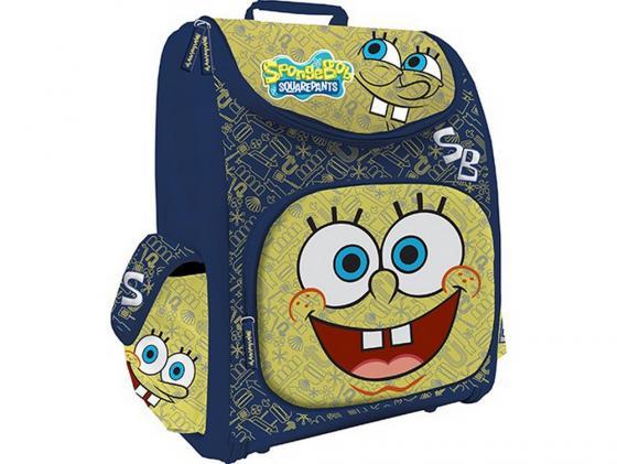 Ранец с наполнением КанцБизнес SPBK-12T-114 синий желтый рисунок зонт spongebob squarepants spongebob