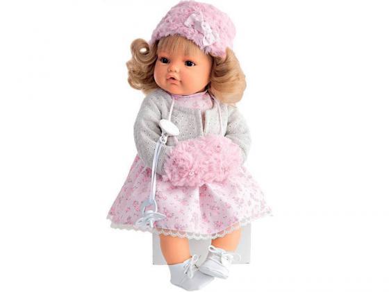 Кукла Munecas Antonio Juan Белла плачущая 42 см мягкая 1669W кукла munecas antonio juan белла первое причастие брюнетка в кремовом 2800br