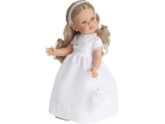 Кукла Munecas Antonio Juan Белла Первое причастие блондинка 45 см 2801Bl кукла munecas antonio juan белла первое причастие брюнетка в кремовом 2800br