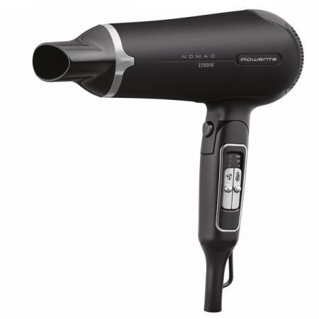 Фен Rowenta CV4750 2200Вт черно-серый фен rowenta cv4750 2200вт черный и серый