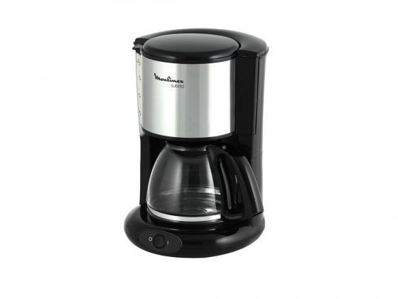 Кофеварка Moulinex FG360830 капельная 1000Вт 1.25л черный кофеварка нерж 670мл 6100 23 991470