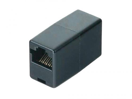 Адаптер Hama H-44890 удлинительный для соединения двух патч-кордов черный адаптер питания hama h 46612 черный