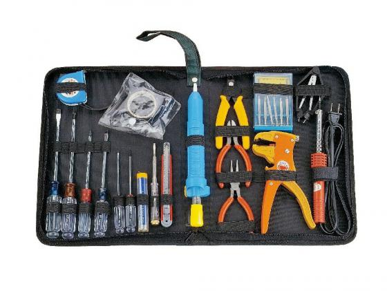 Набор инструментов Gembird Cablexpert TK-HOME-01 24 предмета набор инструментов gembird cablexpert tk solder