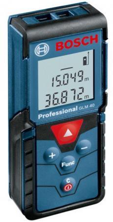 Дальномер Bosch GLM 40 40 м 601072900 дальномер bosch plr 50 c 50 м 603672220