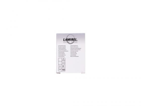Пленка для ламинирования Fellowes Lamirel CRC-78663 125мкм 100шт 75x105 цены