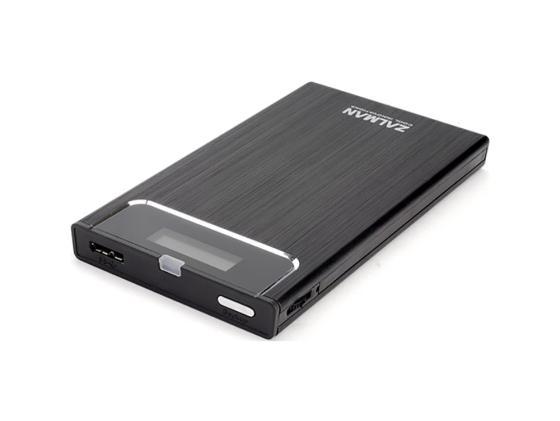 """цена на Внешний контейнер для HDD 2.5"""" SATA ZALMAN ZM-VE350 USB3.0 черный"""