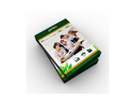 Купить Бумага Perfeo А4 108г/м2 матовая 500л PF-MTA4-108/500