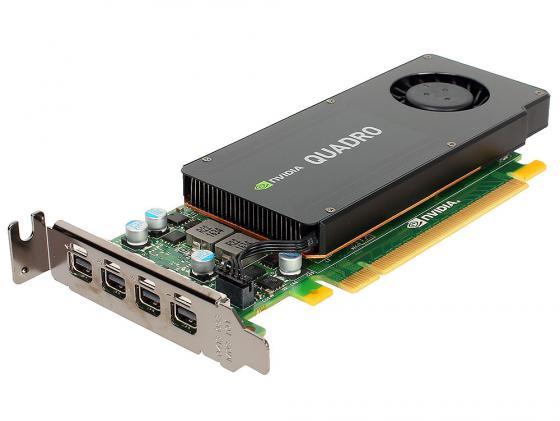 Видеокарта PNY Quadro K1200 NVIDIA Quadro K1200 (VCQK1200DP-PB) PCI-E 4096Mb 128 Bit Retail видеокарта 4096mb pny quadro k1200 pci e 4xminidp vcqk1200dpblk 1 oem