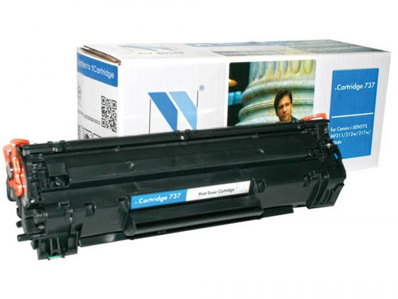Фото - Картридж NV-Print NV-737 для Canon i-SENSYS MF212w i-SENSYS MF211 i-SENSYS MF216n i-SENSYS MF217w i-SENSYS MF226dn i-SENSYS MF229dw 2400стр Черный картридж nv print nv 046h yellow для canon i sensys lbp653cdw lbp654cx mf732cdw mf734cdw mf735cx 5000k