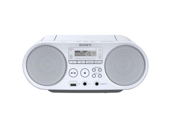 цена на Магнитола Sony ZS-PS50W белый