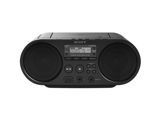 Магнитола Sony ZS-PS50BC черный cd магнитола sony zs pe60