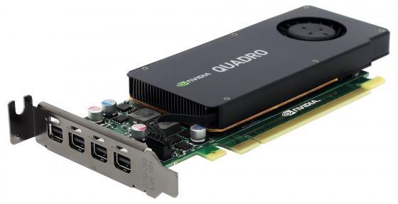 Видеокарта PNY Quadro K1200 NVIDIA Quadro K1200 (VCQK1200DVIBLK-1) PCI-E 4096Mb 128 Bit OEM видеокарта 4096mb pny quadro k1200 pci e 4xminidp vcqk1200dpblk 1 oem