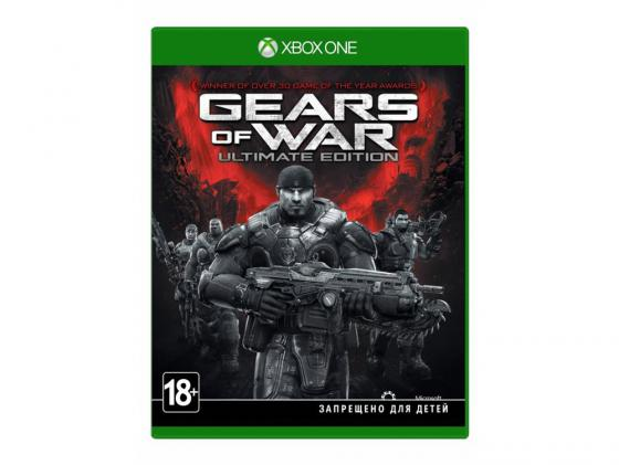 Игра для Xbox One Microsoft Gears of War: Ultimate Edition 4V5-00022 геймпад игра microsoft xbox one wireless controller gears of war ultimate edition