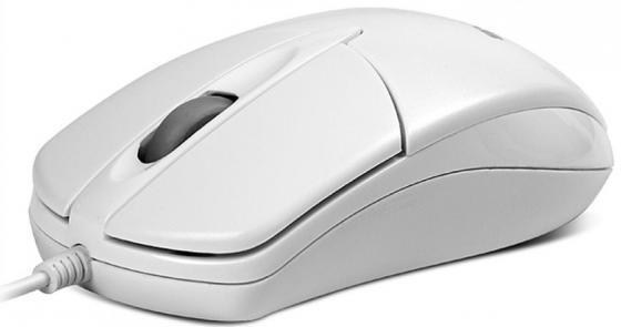 Мышь проводная Sven RX-112 белый USB мышь проводная sven rx 180 чёрный usb
