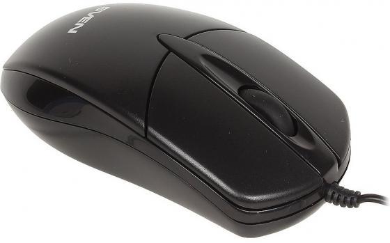 Мышь проводная Sven RX-112 чёрный USB + PS/2 стоимость