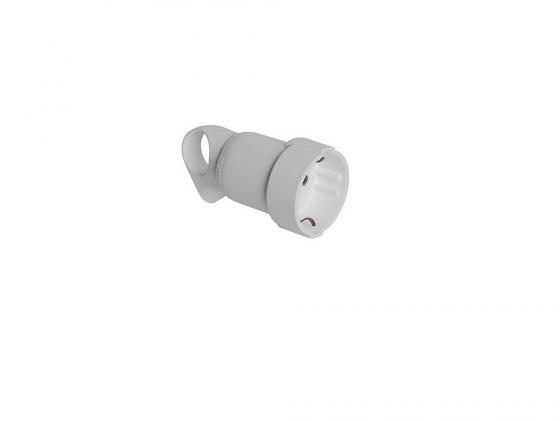Розетка Legrand 2К+З белый 50191