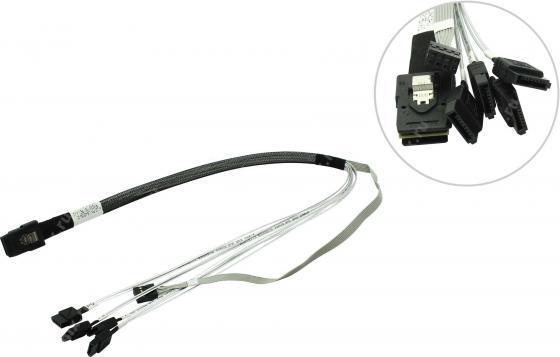 Кабель интерфейсный SAS LSI CBL-SFF8087-SATASB-06M SFF8087- 4xSATA+SB 0.6м LSI00259 цена и фото