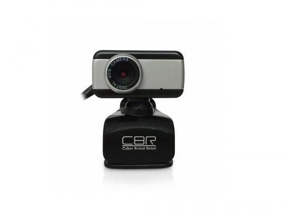 Веб-Камера CBR CW-832M серебристый веб камера canyon cne cwc2 черный серебристый