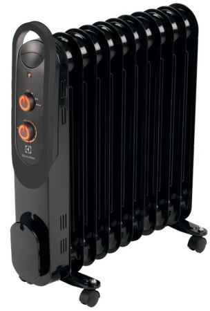 Масляный радиатор Electrolux EOH/M-4209 2000 Вт чёрный масляный радиатор eoh m 4209 9 секций 2000 вт electrolux