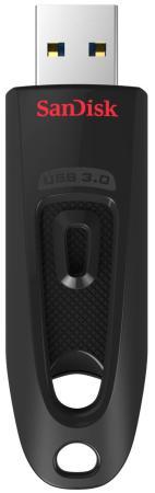 Флешка USB 256Gb Sandisk Ultra SDCZ48-256G-U46 черный флеш накопитель sandisk 256gb cz48 ultra usb 3 0 sdcz48 256g u46