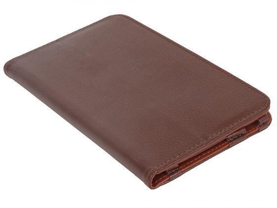 все цены на Чехол IT BAGGAGE для планшета LENOVO Idea Tab 2 A7-30 hard case  коричневый ITLNA7302-2 онлайн