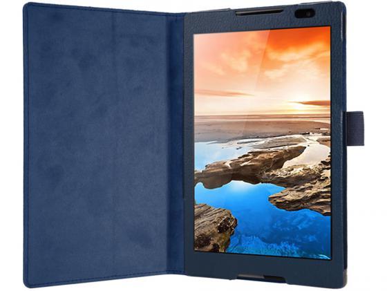 """цена на Чехол IT BAGGAGE для планшета LENOVO Idea Tab 2 8"""" A8-50 синий ITLN2A802-4"""