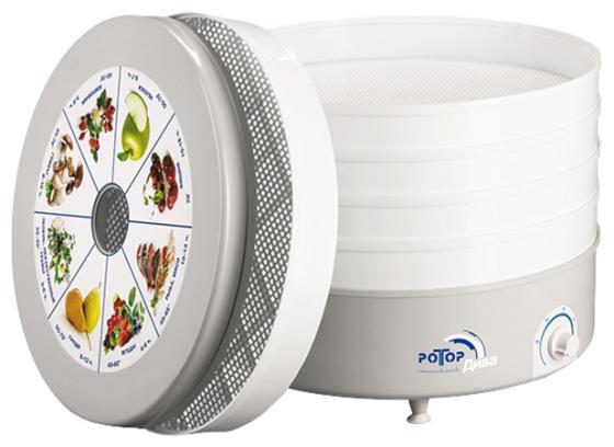 Сушилка для овощей и фруктов Великие реки Ротор-Дива СШ 007 белый