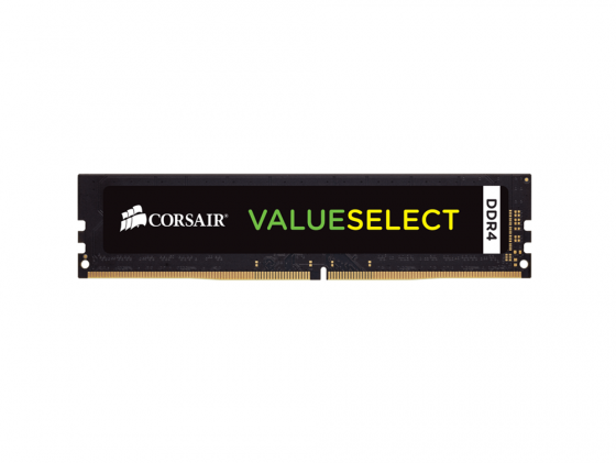 Оперативная память 4Gb PC4-17000 2133MHz DDR4 DIMM Corsair CMV4GX4M1A2133C15 память ddr4 4gb 2133mhz kingmax 4096 2133 rtl pc4 17000
