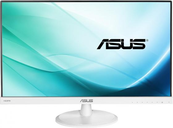 Монитор 23 ASUS VC239H-W белый IPS 1920x1080 250 cd/m^2 5 ms DVI HDMI VGA Аудио 90LM01E2-B01470 asus asus vp228h 21 5 черный dvi hdmi full hd