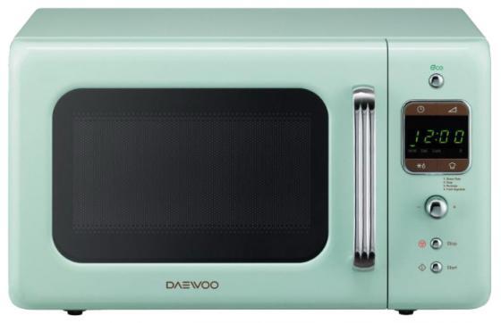 Микроволновая печь DAEWOO KOR-6LBRM 800 Вт зеленый микроволновая печь daewoo koc 9q4t