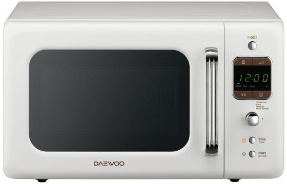 Микроволновая печь DAEWOO KOR-6LBRW 800 Вт белый daewoo kor 662bw белый