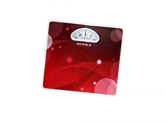 Весы напольные Supra BSS-4061 Kalinka красный рисунок весы supra bss 4061 kalinka bss 4061 kalinka
