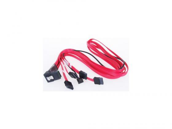 Кабель интерфейсный SAS SFF8087 - 4хSATA угловой+SB 1м MS36-4SATAU8P-100B-S кабель интерфейсный sas sff8087 4хsata угловой sb 0 5м ms36 4satau8p 050b s