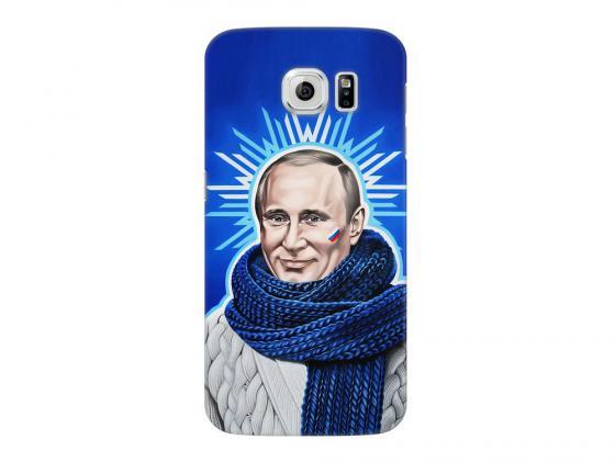 Чехол Deppa Art Case и защитная пленка для Samsung Galaxy S6, Person_Путин звезда, чехол deppa art case и защитная пленка для samsung galaxy s6 танки арту не видали