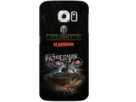 Чехол Deppa Art Case и защитная пленка для Samsung Galaxy S6, Танки_Разведчик, чехол deppa art case и защитная пленка для samsung galaxy s6 танки арту не видали